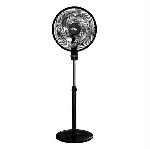 Ventilador Wap Rajada Turbo Coluna 5 Pás 3 Vel. 130W Preto/Cinza 50cm 220V...