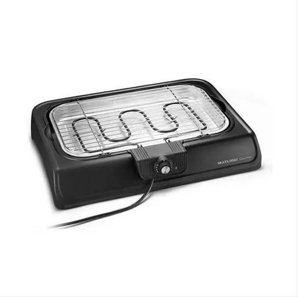 Churrasqueira Elétrica Multilaser Gourmet Premium 1800W Preta 220V CE034