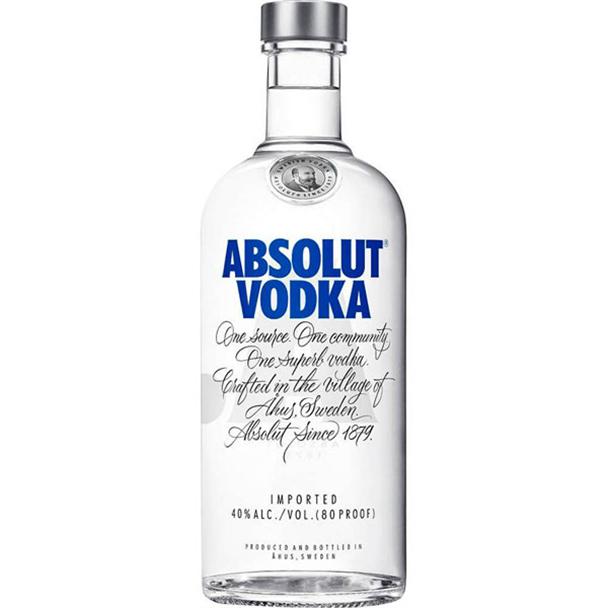 Vodka Absolut Original 1000ml Absoluty