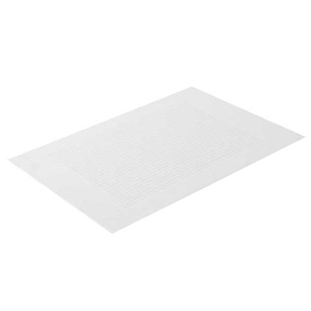 Toalha para Pés Buddemeyer Mosaico Branco 48 x 70 cm