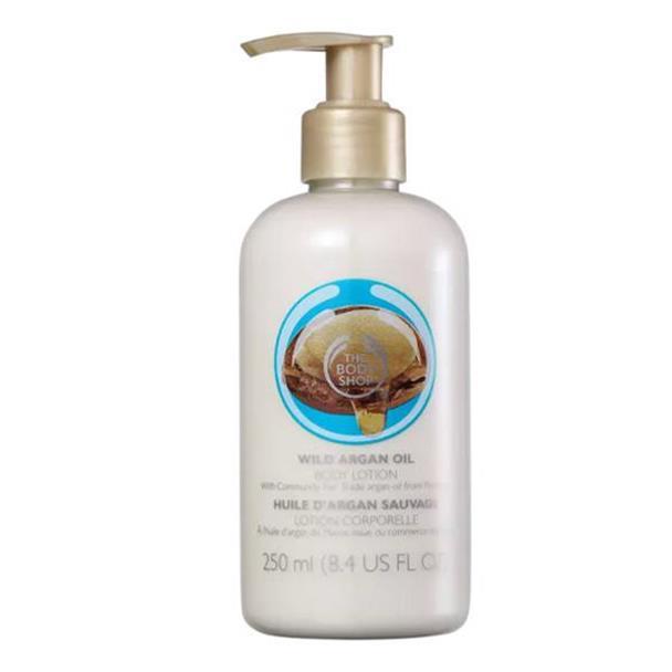 Loção corporal The Body Shop Wild Argan Oil 250ml 49212