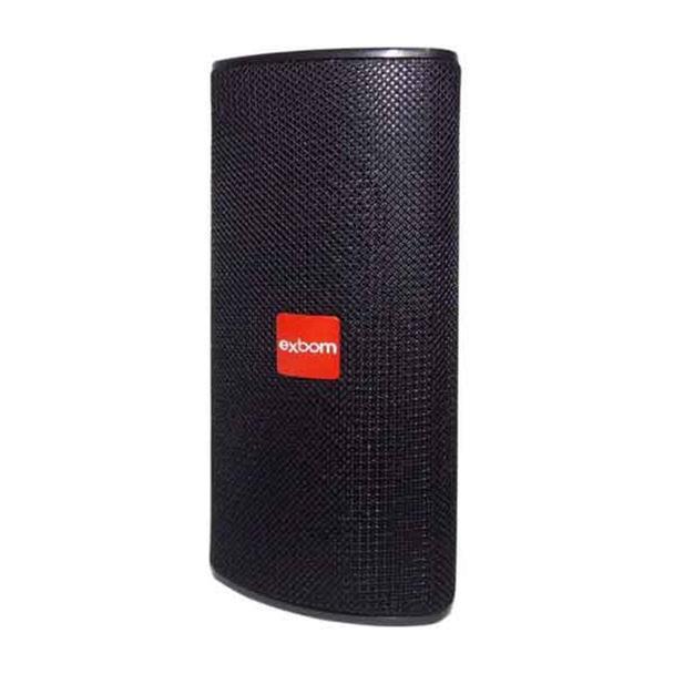 Caixa de Som Exbom Bluetooth MP3 FM 10W/RMS Preto CS-M33BT